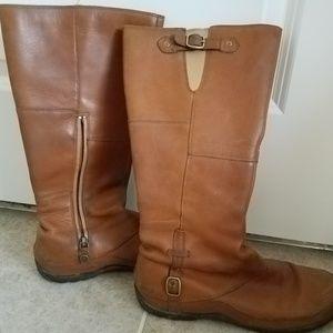 North Face winter boots - cognac
